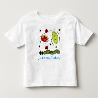 Littlebeane desinseta a formiga Caterpillar do Tshirts