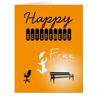 Livre enfim o cartão GRANDE da aposentadoria feliz