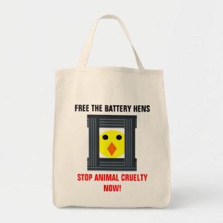 Livre o bolsa das galinhas de bateria