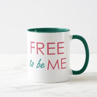 Livre para ser MIM inspirou a caneca de café