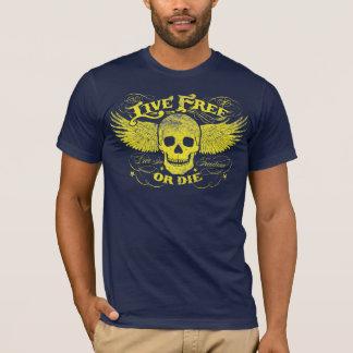 Livres vivos ou morrem camisa camiseta