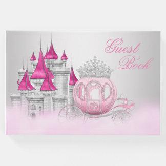 Livro de hóspedes da princesa festa de aniversário