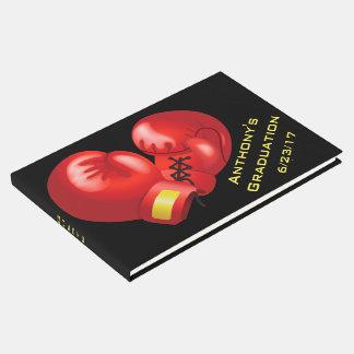 Livro de hóspedes de encaixotamento do design