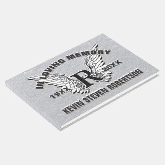 Livro de hóspedes do memorial do monograma