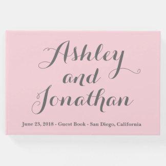 Livro de hóspedes personalizado do casamento livro