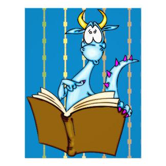 Livro de leitura do dragão flyer 21.59 x 27.94cm