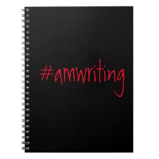 livro de nota #amwriting cadernos espiral