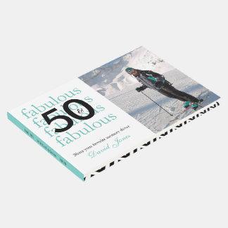 Livro De Visitas 50 & foto feita sob encomenda e nome do 50th