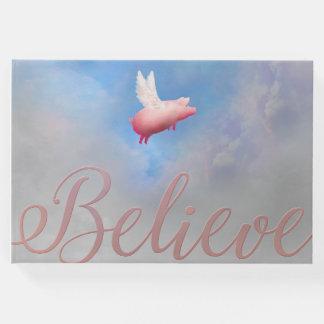 Livro De Visitas Acredite que os porcos voarão