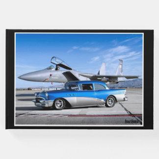 Livro De Visitas Avião de combate 1955 clássico especial do carro
