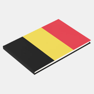 Livro De Visitas Bandeira de Bélgica