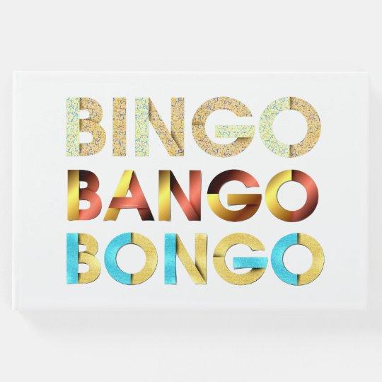 Livro De Visitas Bongos de Bango do Bingo do T