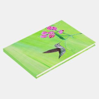 Livro De Visitas Colibri e ervilhas doces