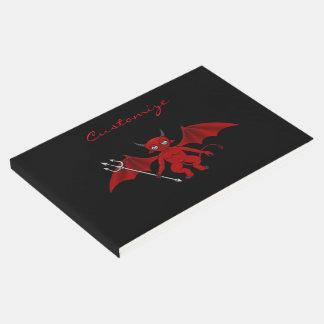 Livro De Visitas Diabo vermelho pequeno Thunder_Cove