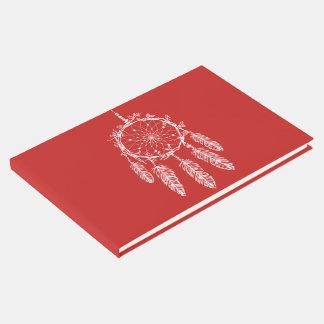 Livro De Visitas Festa de casamento ideal vermelha do nativo