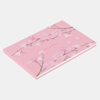 Livro De Visitas Flor de cerejeira - fundo transparente