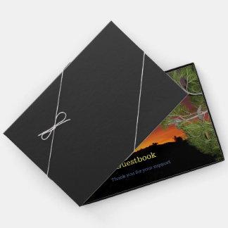 Livro De Visitas Guestbook do nascer do sol
