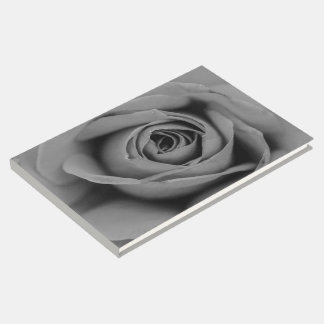 Livro De Visitas Guestbook monocromático do rosa