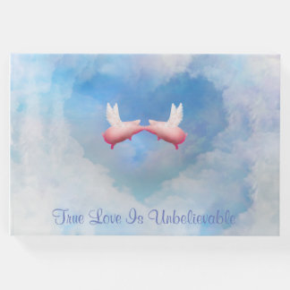 Livro De Visitas O amor verdadeiro é beijo dos porcos do