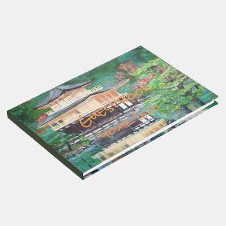 Livro De Visitas O pavilhão dourado, Guestbook