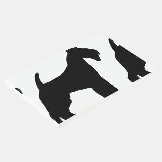 Livro De Visitas Silo de galês Terrier
