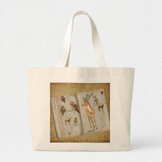 Livro do esboço do saco das corujas & das jovens c bolsas