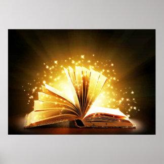 Livro mágico poster