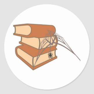 Livro usar COM teia de aranha de para do é de Adesivo