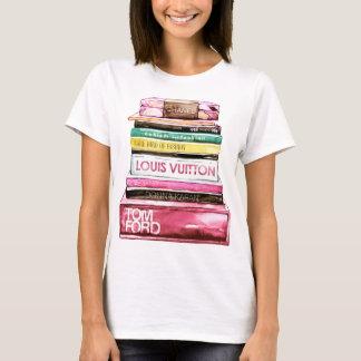 Livros da academia da forma camiseta