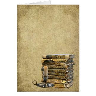 Livros de Ol & cartões de nota Prim de Lil da vela