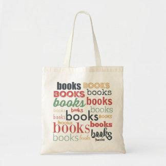 Livros dos livros dos livros! sacola tote budget