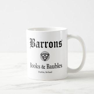 Livros e Baubles de Barrons caneca de 11 onças