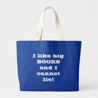 Livros grandes bolsa tote grande
