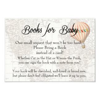 Livros para o cartão do bebê - menina cor-de-rosa