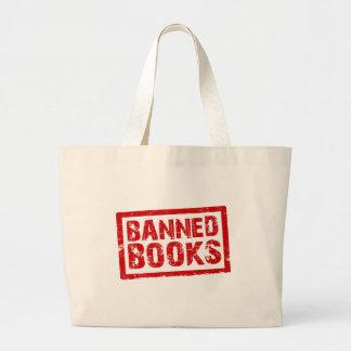 Livros proibidos bolsas para compras