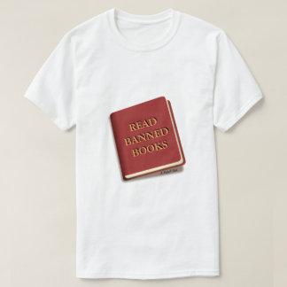 LIVROS PROIBIDOS LIDOS - uma camisa de MisterP