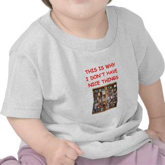 livros camiseta