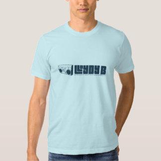 Lloydy B (MENINO) - azul Camiseta