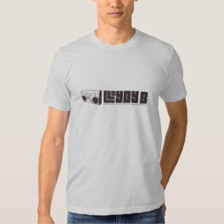 Lloydy B (MENINO) - prata T-shirts