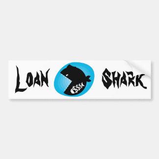 Loan shark adesivo para carro
