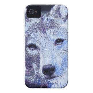 lobo branco do inverno capa para iPhone