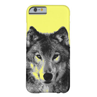 Lobo Capa Barely There Para iPhone 6
