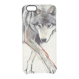 Lobo Capa Para iPhone 6/6S Clear
