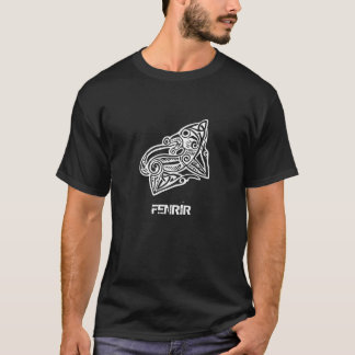 Lobo de Fenrir - mitologia de Viking - noruegueses Camiseta