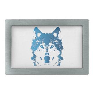 Lobo do azul de gelo da ilustração
