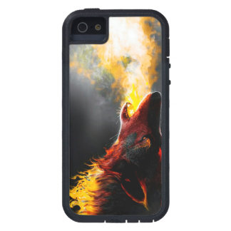 Lobo do fogo capa para iPhone 5