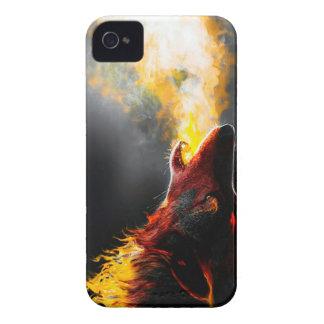 Lobo do fogo capinha iPhone 4