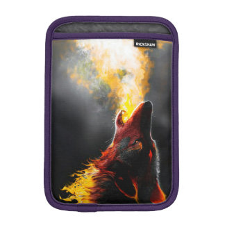 Lobo do fogo luva iPad mini