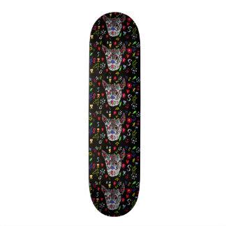Lobo do tatuagem shape de skate 19,7cm