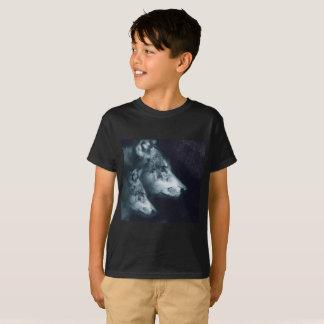 Lobo e camisa sónicos super solitários de Cub -